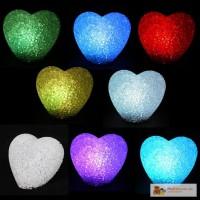 Маленький светильник сердце