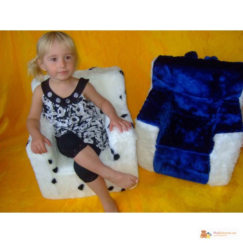 Как сделать кресло для детей своими руками