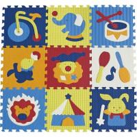 Детский игровой коврик-пазл Удивительный цирк gb-m129c Baby Great
