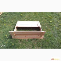 Песочница с крышкой 2 на 2 м в детский сад