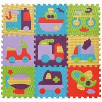 Детский игровой коврик-пазл Быстрый транспорт gb-m129v2 Baby Great