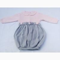 Платье теплое. Девочке 1, 5-2, 5 лет, рост 86-94 см