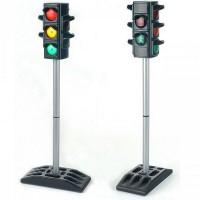 Игрушечный большой светофор и набор Дорожные знаки