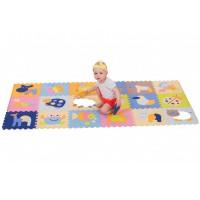 Детский игровой коврик-пазл Волшебный мир gb-m1218abl Baby Great