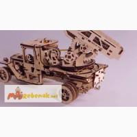 Механический-Деревянный 3D Конструктор - Пожарная машина