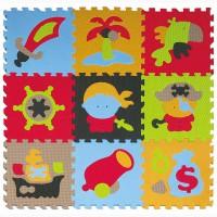 Детский игровой коврик - пазл Приключения пиратов GB-M1503 Baby Great