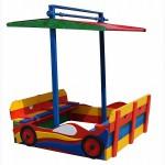 Песочница с крышкой, песочница детская Машинка