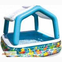 Продам надувной бассейн Intex 57470 Семейный с тентом