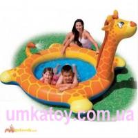 Продаем детский надувной бассейн Жираф 57434 іntex