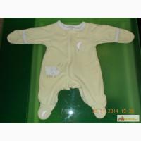 Одежда Человечек от 0-3 месяцев утепленный