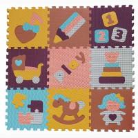 Детский игровой коврик - пазл Интересные игрушки GB-M1601 Baby Great