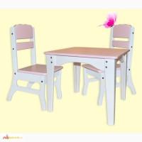 Комплект мебели для детей Бабочка - столик + 2 стульчика, детская мебель
