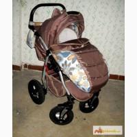 Детская коляска 2 в 1 красивая разцветка