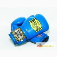 Боксерские перчатки 10ун с печатью ФБУ синие