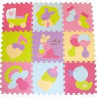 Детский игровой коврик - пазл Маленький кенгуренок GB-M129KB Baby Great