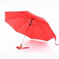 Зонт с деревянной ручкой голова утки, Зонты антишторм