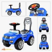 Каталка-толокар Jeep blue/black