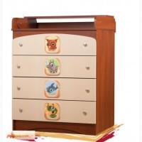 Детский стол-пеленатор комод Непоседа 3 в 1