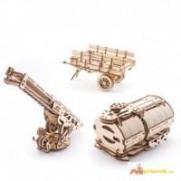 Механический-Деревянный 3D Конструктор - Дополнение для модели ГРУЗОВИК UGM – 11