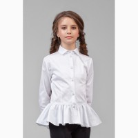 Блуза для девочки 26-8006-1 zironka рост 122, 128, 134, 140, 146, 152