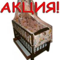 Акция! Комплект: коляска Вайпер + кроватка+ постель+матрас. Новое