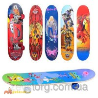 Скейтборд/скейт детский мини 43х13 см: 6 видов в ассортименте