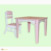 Комплект мебели для детей Фламинго - столик+стульчик, детская мебель