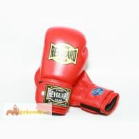 Боксерские перчатки 10ун с печатью ФБУ красные