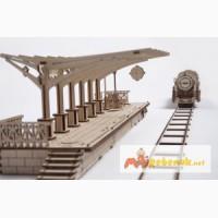 Механический-Деревянный 3D Конструктор – Перрон