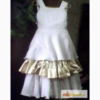 Платье нарядное для маленькой принцессы с болеро (двухстороннее) - Б/У