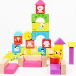 Детский деревянный конструктор серия