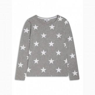 Детская футболка с длинными рукавами для девочки 8-14 лет