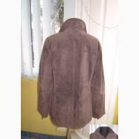 Оригинальная женская замшевая куртка GIL BRET. США. Лот 857
