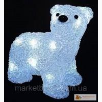 Подарки детям АКРИЛОВЫЙ МИШКА светодиодный