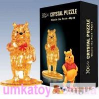 Продаем 3d пазлы Винни Пух 9023 серии Crystal Puzzle