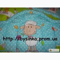 Защита, бортики, Охранка -40 см -высокая в кроватку новорожденного