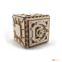 Механический-Деревянный 3D Конструктор – Сейф