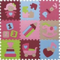 Детский игровой коврик - пазл Интересные игрушки GB-M1707 Baby Great