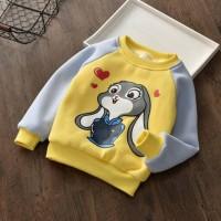 Кофта детская утепленная Lola Bunny желтая