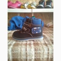Демисезонные ботиночки на мальчика Jong Golf