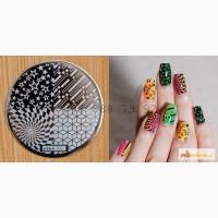 Диск hehe003 для дизайна ногтей konad дизайн