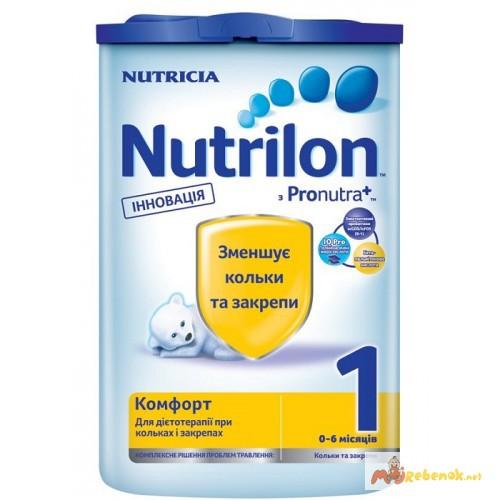 Молочная смесь Нутрилон Nutrilon Комфорт 1, 2 400гр. Дешево. Доставка по Киеву