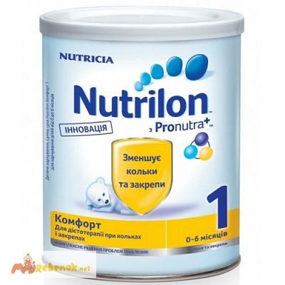 Фото 2. Молочная смесь Нутрилон Nutrilon Комфорт 1, 2 400гр. Дешево. Доставка по Киеву