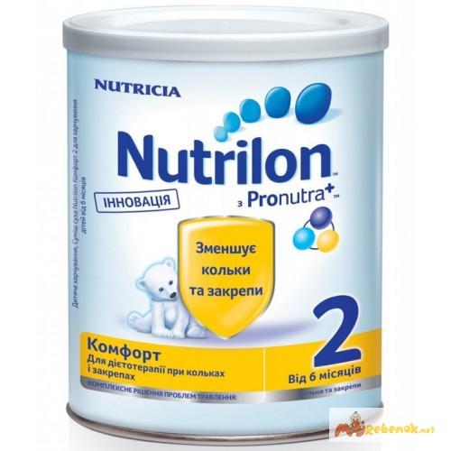 Фото 3. Молочная смесь Нутрилон Nutrilon Комфорт 1, 2 400гр. Дешево. Доставка по Киеву