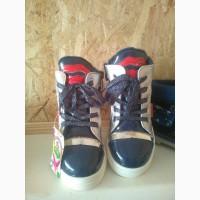 Лакированые демисезонные ботиночки на принцессу Jong Golf