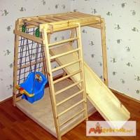 Детский спорт- уголок Малыш с горкой для раннего развтия ребёнка