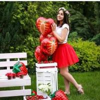 Красивая пышная юбка на девочку для танцев и празжников