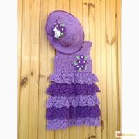 Сарафан и шляпа для девочки 2-3 года