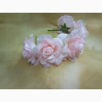 Ободок для волос Розы роса розовые