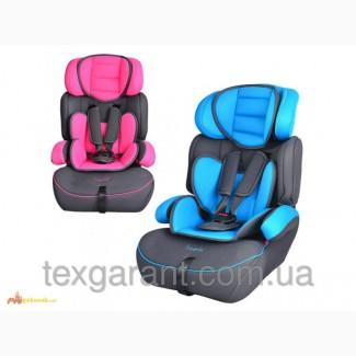 Автокресло детское BAMBI M 0485 2 цвета (голубой, розовый), группа 1-2-3 (9-36 кг)